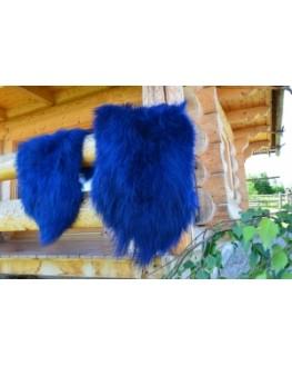 Farved Islandsk fåreskind - Mørke blå